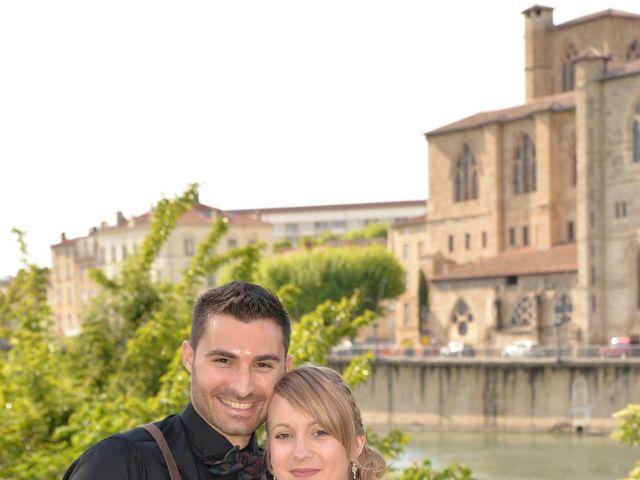 Le mariage de Haley et Thomas à Grignan, Drôme 14