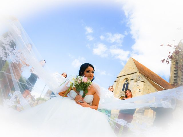 Le mariage de Hakim et Naoel à Grisy-les-Plâtres, Val-d'Oise 2