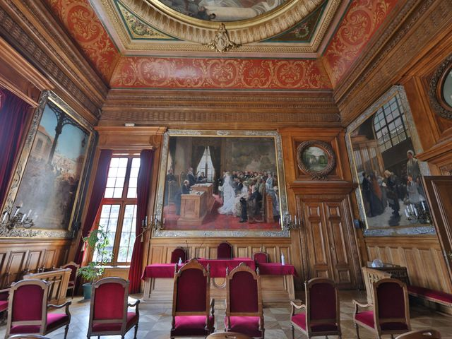 Le mariage de Jordan et Carla à Le Coudray-Montceaux, Essonne 7