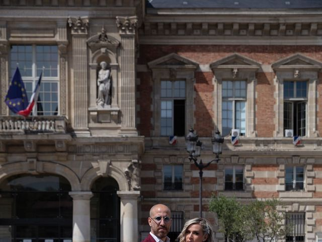 Le mariage de Jordan et Carla à Le Coudray-Montceaux, Essonne 8