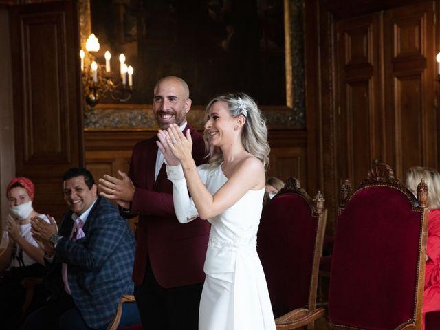 Le mariage de Jordan et Carla à Le Coudray-Montceaux, Essonne 14