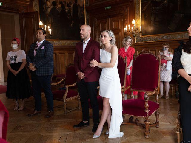 Le mariage de Jordan et Carla à Le Coudray-Montceaux, Essonne 25