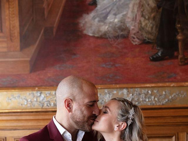 Le mariage de Jordan et Carla à Le Coudray-Montceaux, Essonne 40