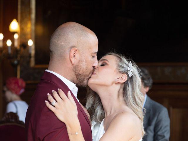 Le mariage de Jordan et Carla à Le Coudray-Montceaux, Essonne 43