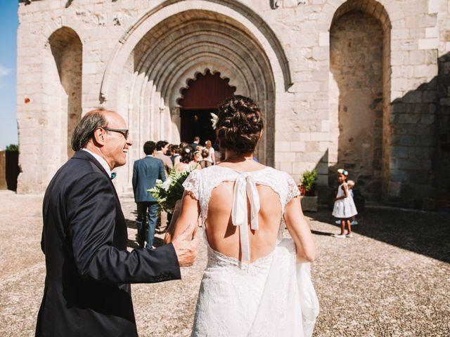 Le mariage de Daniel et Astrid à Persac, Vienne 35