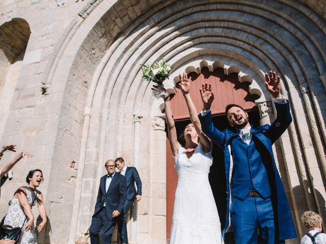 Le mariage de Daniel et Astrid à Persac, Vienne 48
