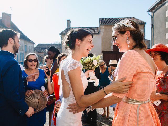 Le mariage de Daniel et Astrid à Persac, Vienne 53
