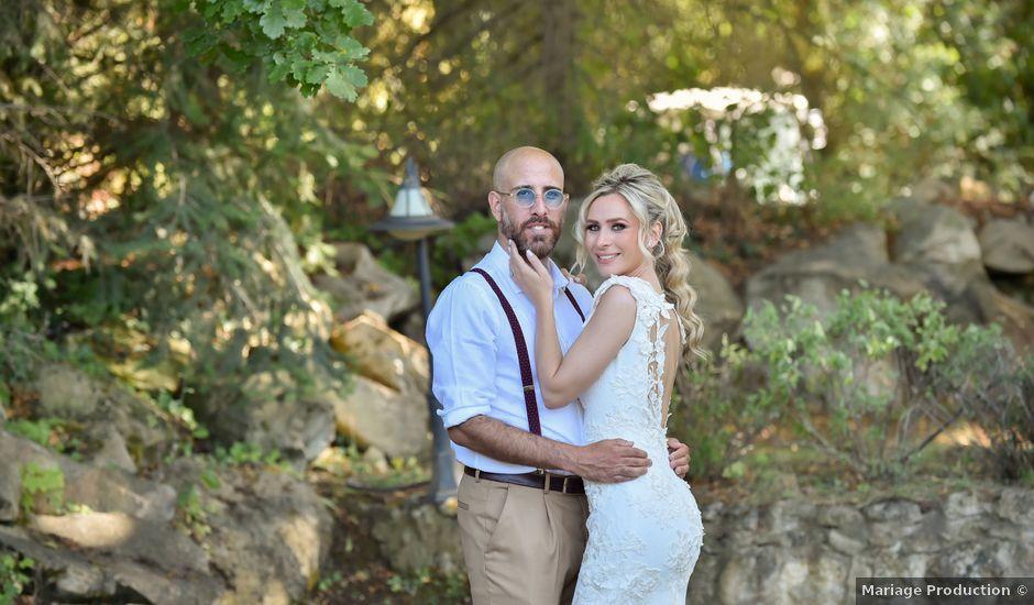 Le mariage de Jordan et Carla à Le Coudray-Montceaux, Essonne