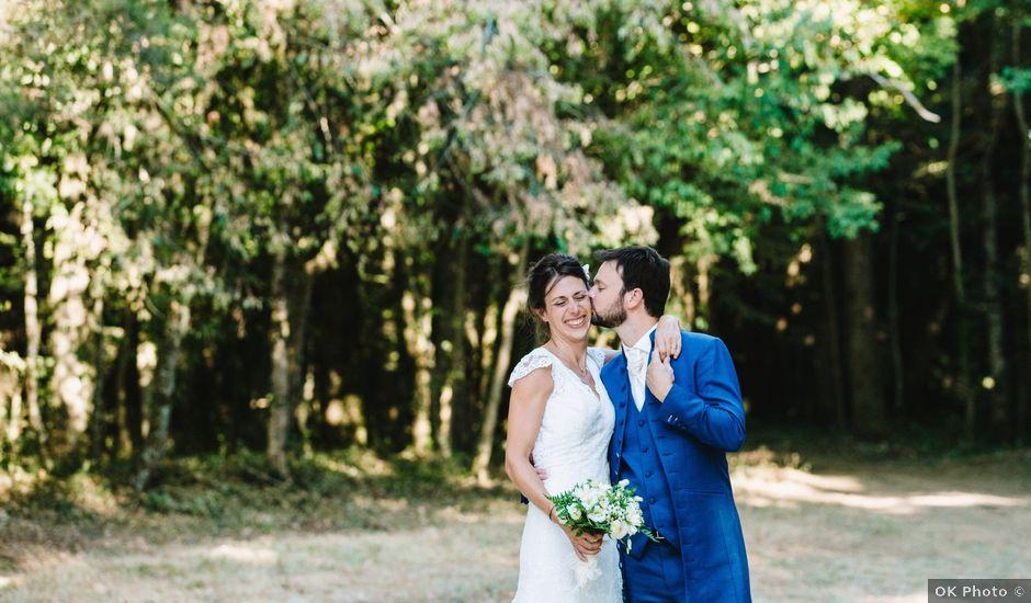 Le mariage de Daniel et Astrid à Persac, Vienne