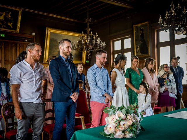 Le mariage de Florian et Carla à Saumur, Maine et Loire 33