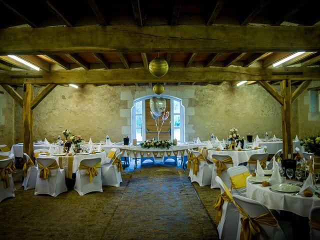 Le mariage de Florian et Carla à Saumur, Maine et Loire 110