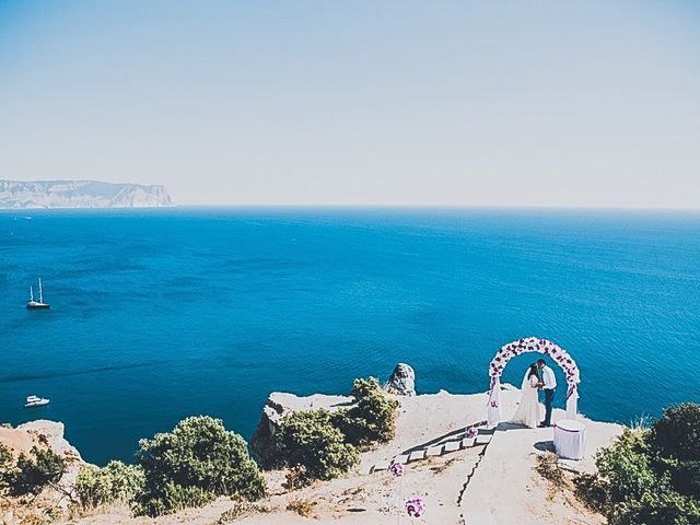 Le mariage de Dima et Sveta à Juan-les-Pins, Alpes-Maritimes 10