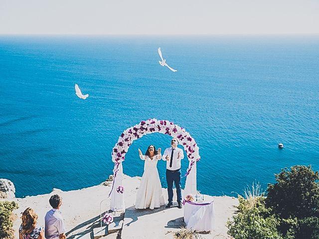 Le mariage de Dima et Sveta à Juan-les-Pins, Alpes-Maritimes 15