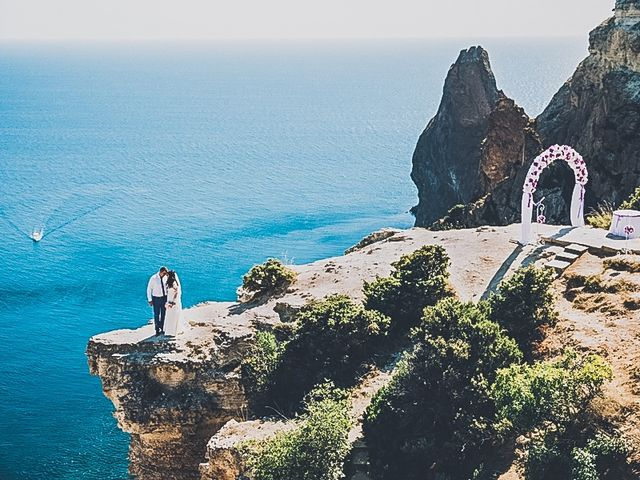 Le mariage de Dima et Sveta à Juan-les-Pins, Alpes-Maritimes 16