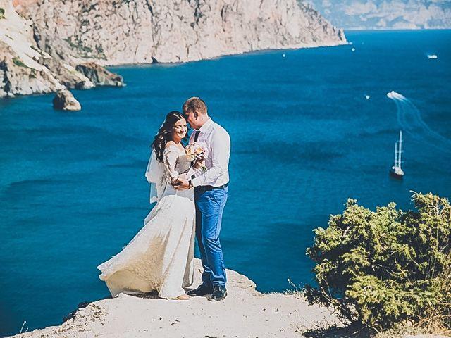 Le mariage de Dima et Sveta à Juan-les-Pins, Alpes-Maritimes 18