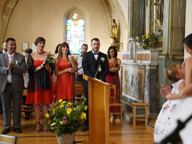 Le mariage de Guillaume et Alexandra à Pélussin, Loire 73