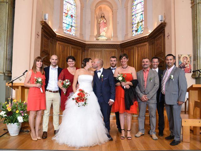 Le mariage de Guillaume et Alexandra à Pélussin, Loire 78