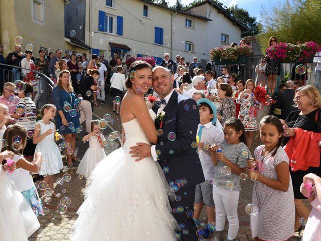 Le mariage de Guillaume et Alexandra à Pélussin, Loire 85