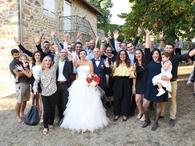 Le mariage de Guillaume et Alexandra à Pélussin, Loire 88