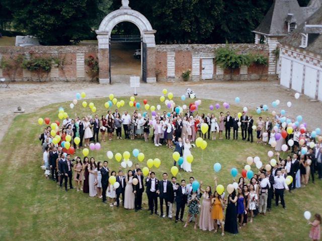 Le mariage de David et Elodie à Vauchelles-lès-Domart, Somme 22