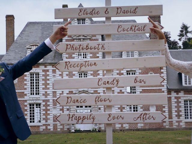 Le mariage de David et Elodie à Vauchelles-lès-Domart, Somme 25