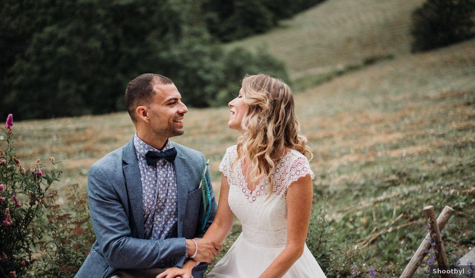 Le mariage de Adrien et Maëlys à La Giettaz, Savoie