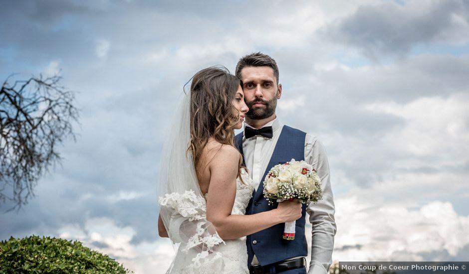 Le mariage de Nodari et Anna à Cruet, Savoie