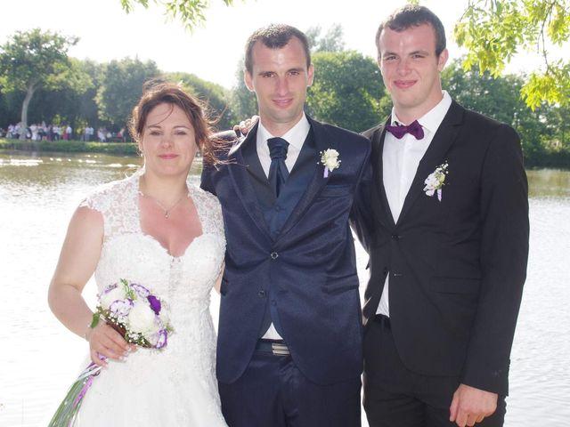 Le mariage de Yohan et Sandra à Saint-Georges-de-Bohon, Manche 53