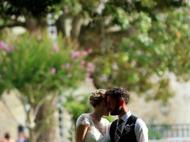Le mariage de Scott et Pauline à Lignan-de-Bordeaux, Gironde 33