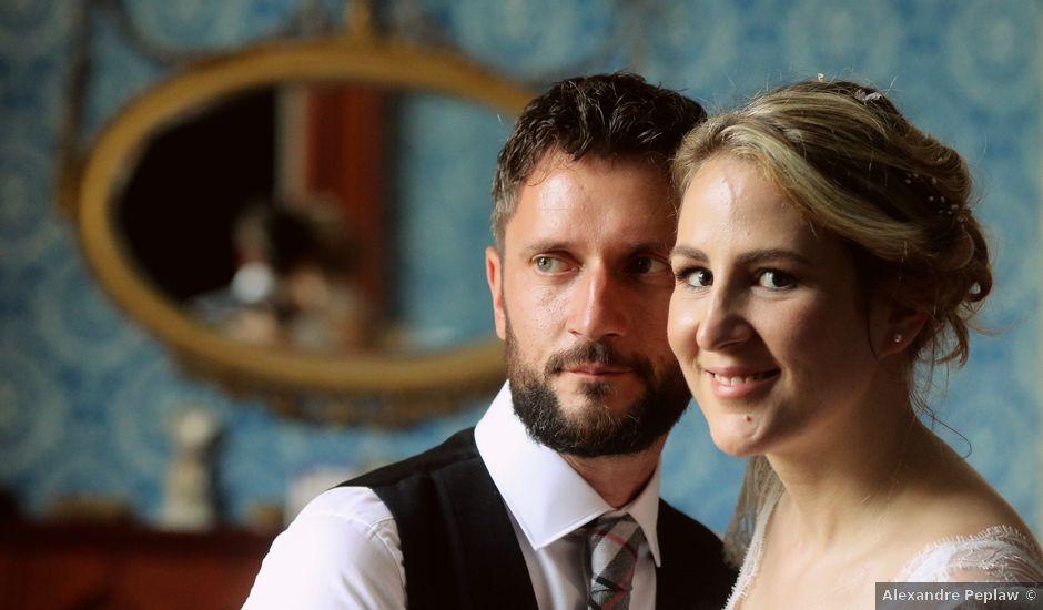 Le mariage de Scott et Pauline à Lignan-de-Bordeaux, Gironde
