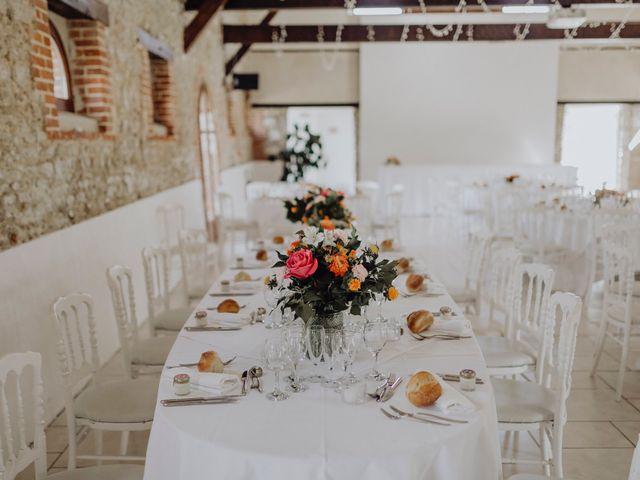 Le mariage de Hans et Mélanie à Fontenay-en-Vexin, Eure 76
