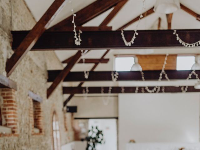 Le mariage de Hans et Mélanie à Fontenay-en-Vexin, Eure 77