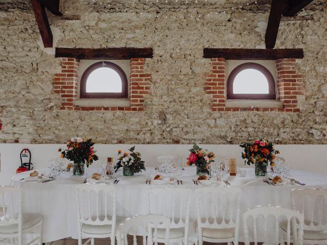 Le mariage de Hans et Mélanie à Fontenay-en-Vexin, Eure 78