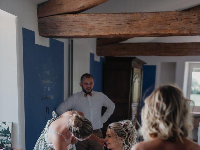 Le mariage de Jérémy et Laura à Champdieu, Loire 6