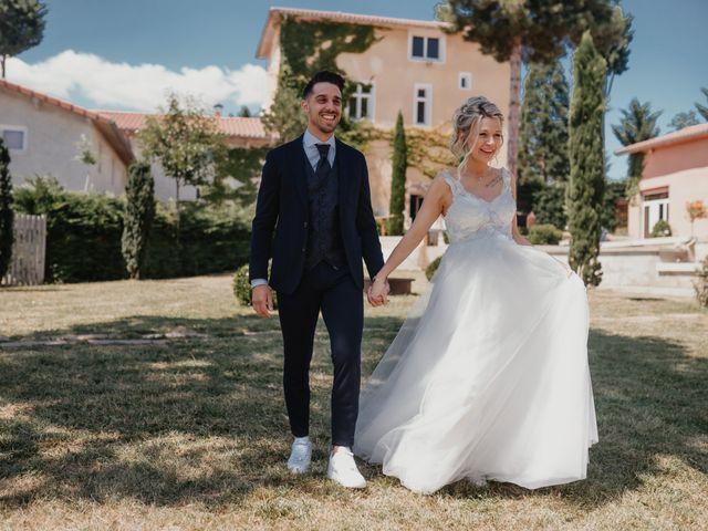 Le mariage de Jérémy et Laura à Champdieu, Loire 16