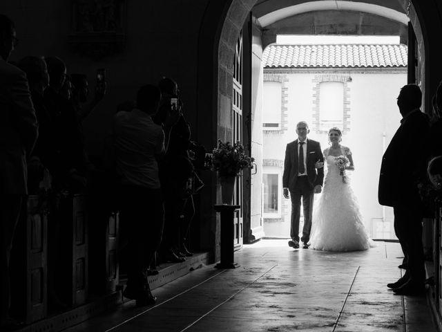 Le mariage de Romain et Pauline à Saint-Léger-sous-Cholet, Maine et Loire 20