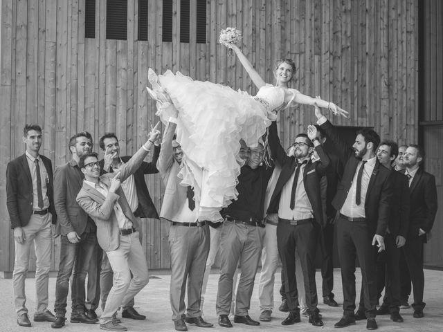 Le mariage de Romain et Pauline à Saint-Léger-sous-Cholet, Maine et Loire 45
