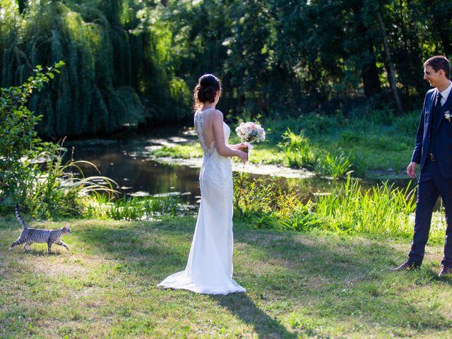 Le mariage de Valentin et Nathalie à Vallons-de-l'Erdre, Loire Atlantique 17