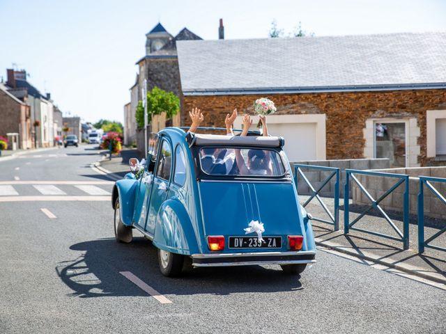 Le mariage de Valentin et Nathalie à Vallons-de-l'Erdre, Loire Atlantique 65
