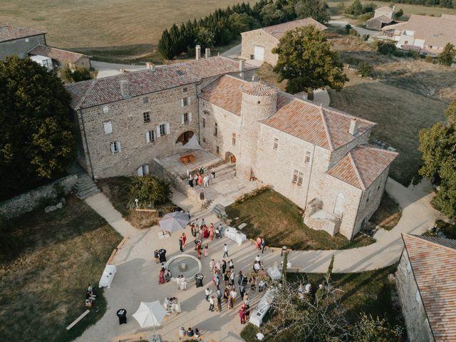 Le mariage de Lilian et Nina à Saint-Romain-d'Ay, Ardèche 5