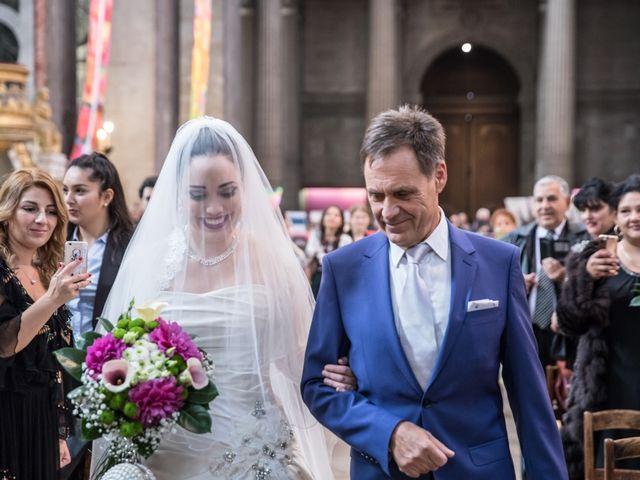 Le mariage de Radu et Marika à Paris, Paris 5