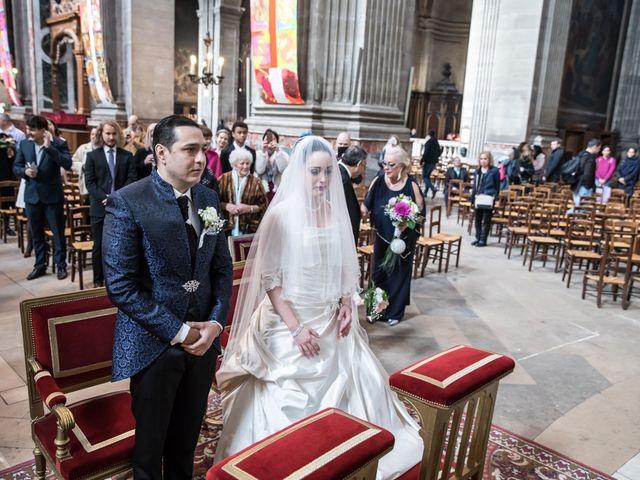 Le mariage de Radu et Marika à Paris, Paris 7