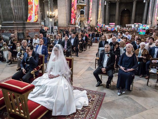 Le mariage de Radu et Marika à Paris, Paris 10