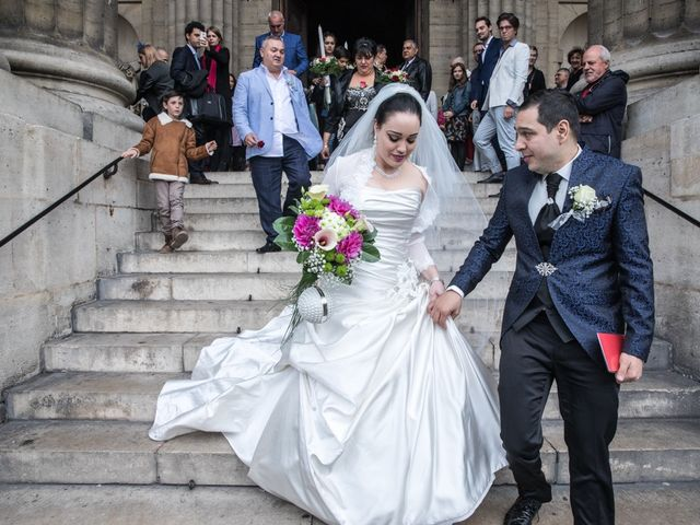 Le mariage de Radu et Marika à Paris, Paris 12