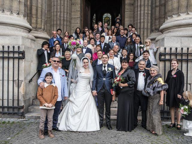 Le mariage de Radu et Marika à Paris, Paris 13