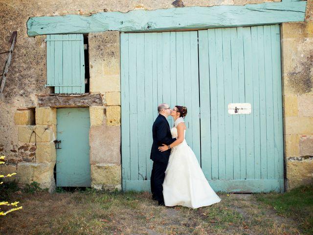 Le mariage de Hakim et Vanessa à Vallères, Indre-et-Loire 13