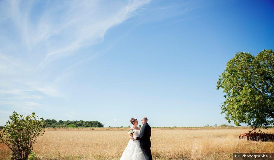 Le mariage de Hakim et Vanessa à Vallères, Indre-et-Loire
