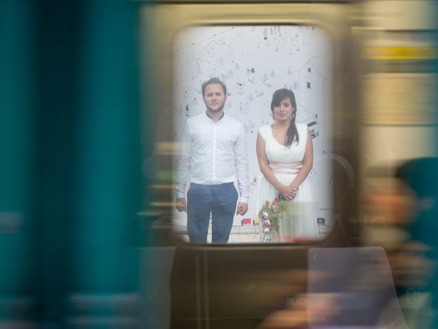 Le mariage de Raphael et Maria à Paris, Paris 1