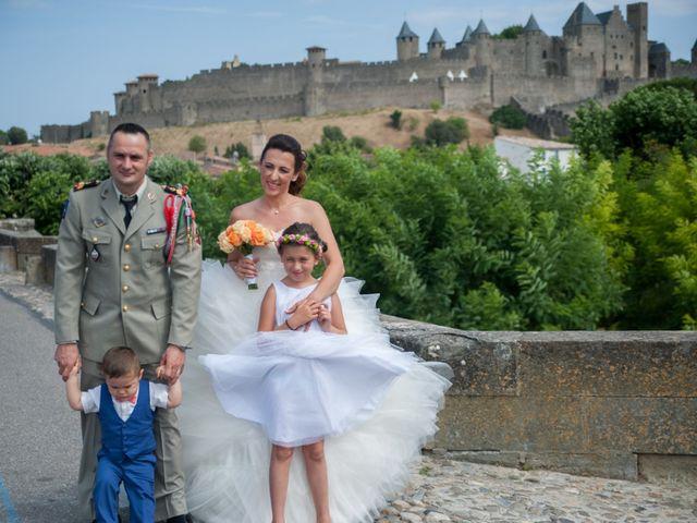 Le mariage de Fred et Céline à Carcassonne, Aude 3