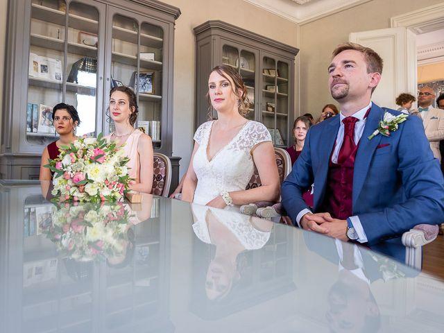 Le mariage de Benjamin et Marie-Laure à Blasimon, Gironde 31